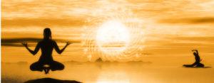 Mediation Yoga Warmth Light